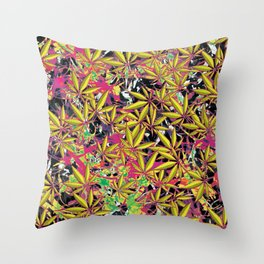 Tangle Weed Throw Pillow
