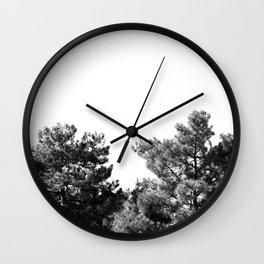 treetops Wall Clock