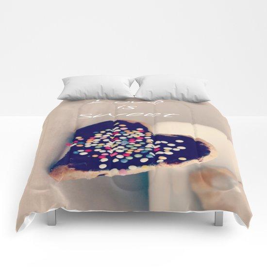 Love is Sweet  - JUSTART © Comforters