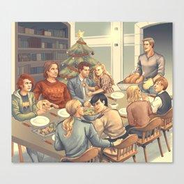 A very Supernatural Christmas Canvas Print