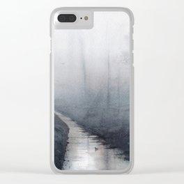 Winter Dawn Clear iPhone Case