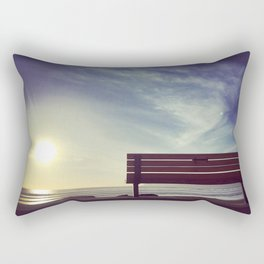 Sunset on Coronado Beach, California Rectangular Pillow