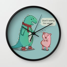 Bacon is TOO mainstream. Wall Clock