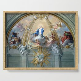 Placido Costanzi Immaculate Conception Serving Tray