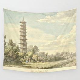 Pagoda at Kew Wall Tapestry