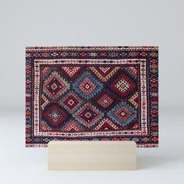 Jaff  Kurdish West Persian Bag Face Print Mini Art Print