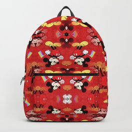 Mickey Mouse - Gay Pride - Gay Days - Pop Art Pattern Backpack