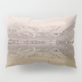 Lake Bohinj Reflection Pillow Sham