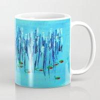 martini Mugs featuring :: Blue Martini :: by :: GaleStorm Artworks ::