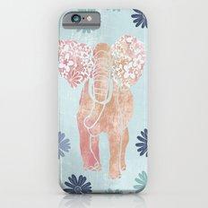 Daisy Elephant iPhone 6 Slim Case
