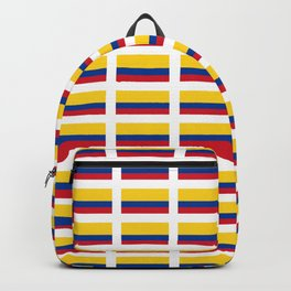 Flag of Colombia 2 -Colombian,Bogota,Medellin,Marquez,america,south america,tropical,latine america Backpack
