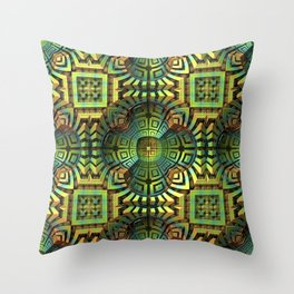 Modern Tribe Throw Pillow