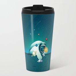 Astronaut Billards Travel Mug
