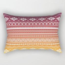 Ombré Navajo Rectangular Pillow