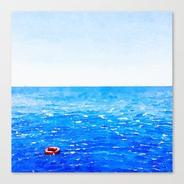 Akrotiri Sail Canvas Print