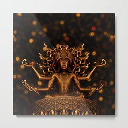 Tibetan Buddha 1 Metal Print