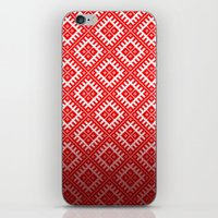 sewing iPhone & iPod Skins featuring SEWING PATTERN by Ylenia Pizzetti