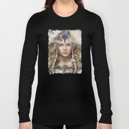 Epic Princess Zelda from Legend of Zelda Painting Long Sleeve T-shirt