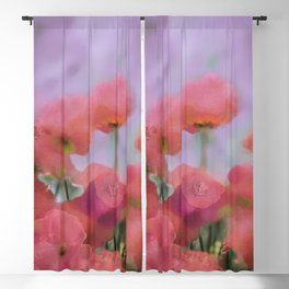 Floral Abstract 124 Blackout Curtain