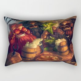 Once Upon a Time in The Tavern Rectangular Pillow