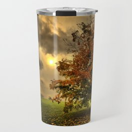 Red Maple Tree  Travel Mug