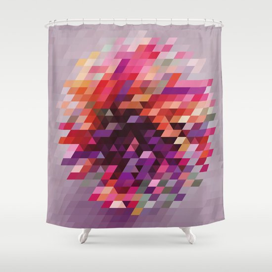 Cluster bir Shower Curtain