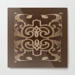 J'aime le chocolat, I love chocolate Metal Print