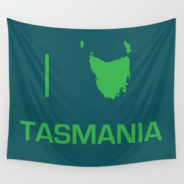 I heart Tasmania Wall Tapestry