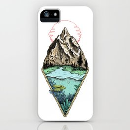Simple origin iPhone Case