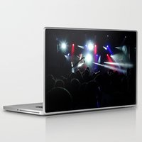 concert Laptop & iPad Skins featuring CONCERT by Eclectic House Of Art