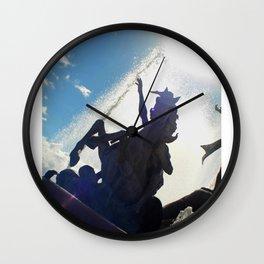 Paseo de La Princesa Wall Clock