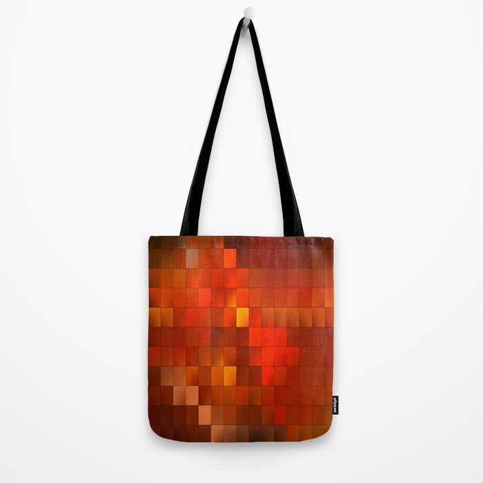 light squares Tote Bag