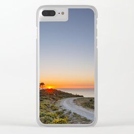 The wind, energy of the present and future Clear iPhone Case