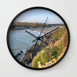 Porth Seascape Wall Clock