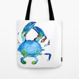 Blue Claw Crab - Nautical - Summer - Ocean - Sea Life Tote Bag