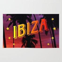 Ibiza, sunset Rug