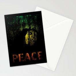 Marley Grunge Peace Stationery Cards