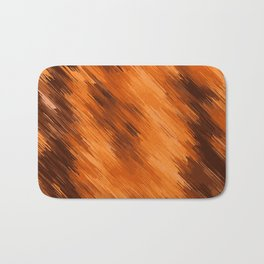 brown orange and dark brown painting texture abstract background Bath Mat