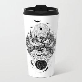 Sun vs Moon Metal Travel Mug