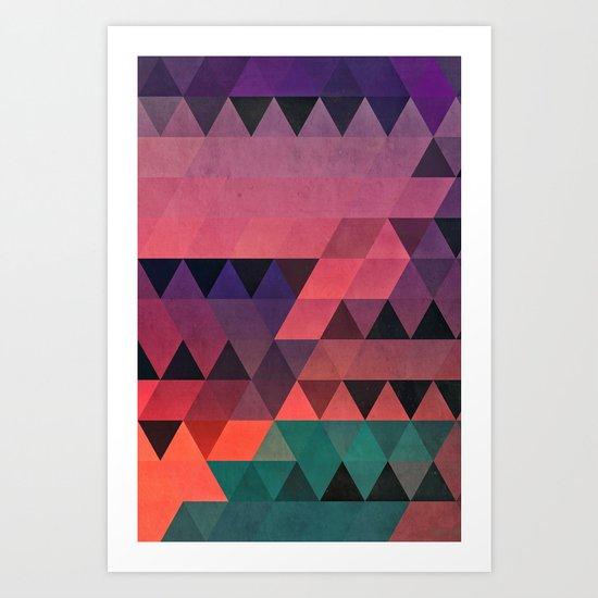 tryy cyty Art Print
