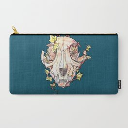 Cat Skull Carry-All Pouch