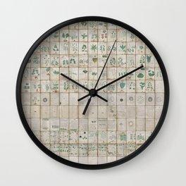 The Complete Voynich Manuscript - Natural Wall Clock