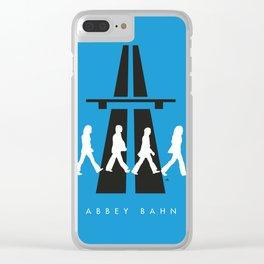 Abbey Bahn Clear iPhone Case