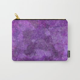 Amethyst Fragments Carry-All Pouch