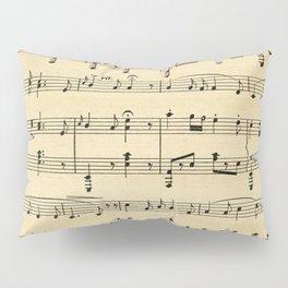 Antique Sheet Music Pillow Sham