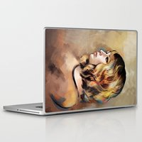 jennifer lawrence Laptop & iPad Skins featuring Lawrence by Meder Taab