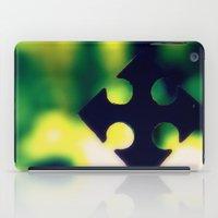 cross iPad Cases featuring Cross by Leffan