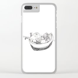 Fruit Bowl Clear iPhone Case