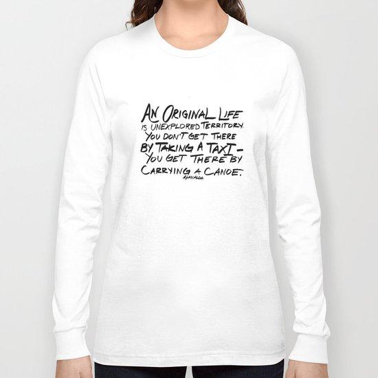 Unexplored Territory Long Sleeve T-shirt