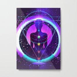 Meditation, Infinity, Sacred Geometry, Spirituality, Zen, Yoga Metal Print